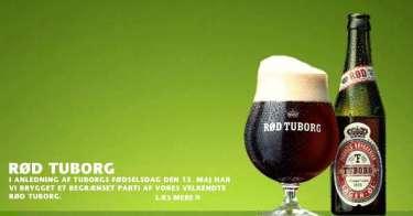 Tuborg har for en kort stund ladet den danske befolkning smage denne vidunderlige klassiske øl - den RØDE Tuborg.