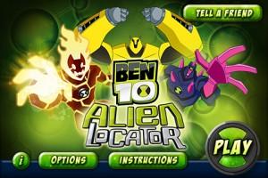 Ben 10 forside af spillet
