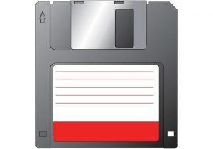 """foto af en 3½""""diskette"""