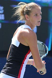 Billede af Karolina Pliskova fra Wikipedia