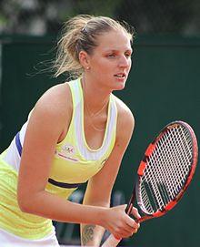 Billede af Kristýna Pliskova fra Wikipedia