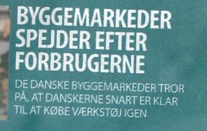 Scan af forsiden på ErhvervsBladet den 14. april 2011 med kæmpe stavefejl