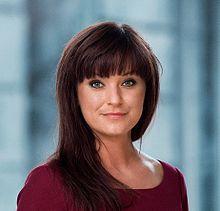 Billede fra Wikipedia af landets minister for offentlig innovation, Sophie Løhde