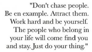 Vær dig selv. I dag vil jeg causere om det at være autentisk
