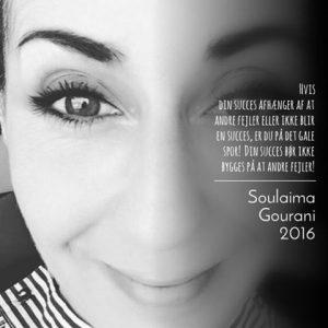 Citat fra Soulaima Gourani om succes