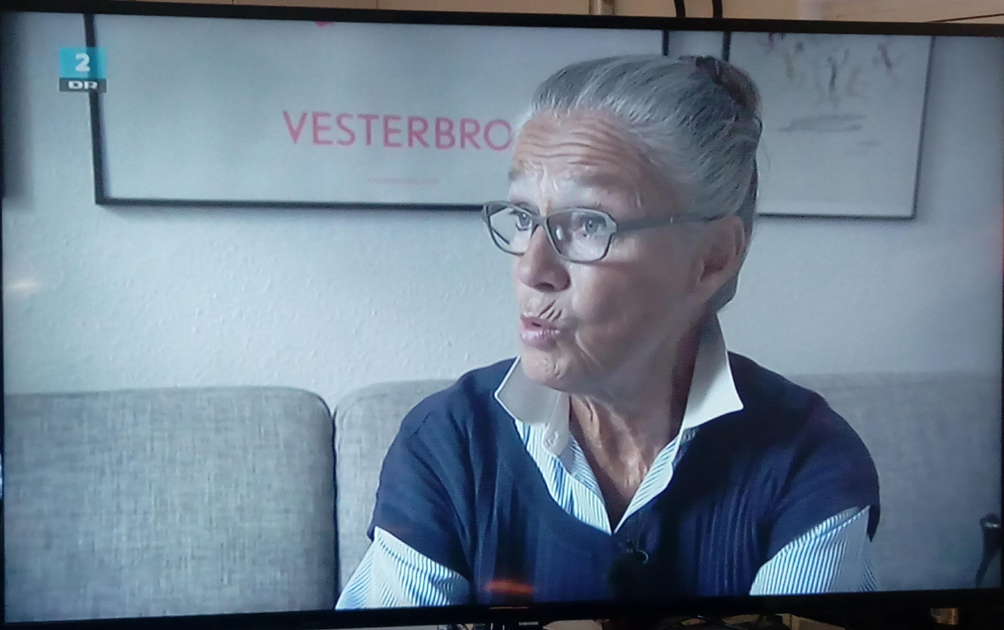 Billede af Ritt Bjerregaard fra dokumentaren Ritt Bjerregaard - tilbage til Vesterbro