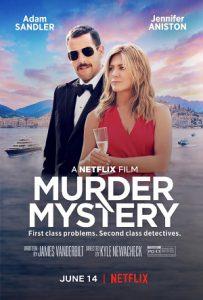 Billede af plakaten for Netflix-filmen Murder Mystery