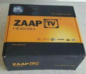 Billede af boksen med ZaapTV HD509N