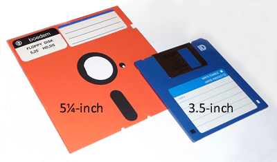 I gamle dage skulle man opdatere en driver på sin pc med en diskette