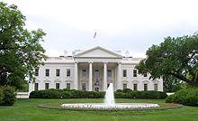Billede af Det Hvide Hus fra Wikipedia